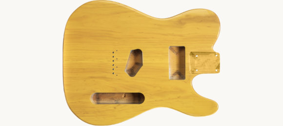 Дека для електрогітари Woodstock Tele Ash Body BB