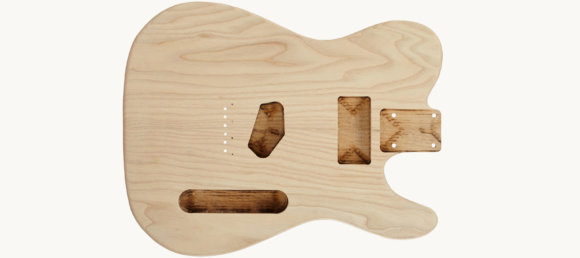 Дека для електрогітари Woodstock Tele Ash Body UN