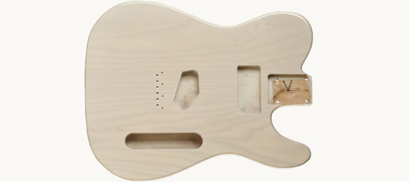 Дека для електрогітари Woodstock Tele Ash Body WHB