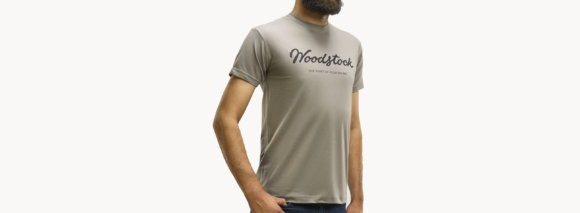 Футболка Woodstock Khaki Grey