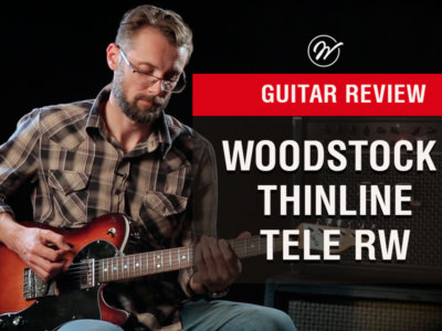 Woodstock Thinline Tele demo by Sergii Semenov