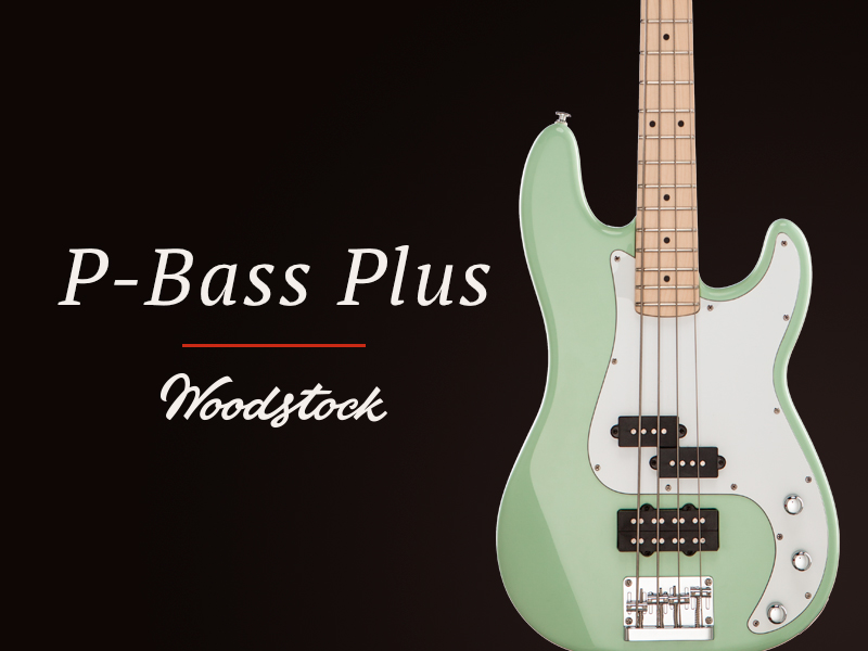 Woodstock P-Bass Plus