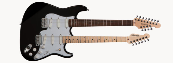 Електрогітара Woodstock Double Black Strat Custom Range